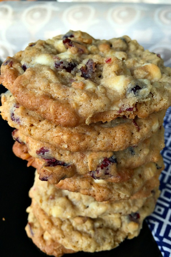 White Chocolate Cranberry Macadamia Nut Cookies in a Jar Recipe