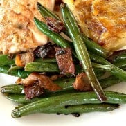 Onion Shallot Bacon Green Bean Recipe