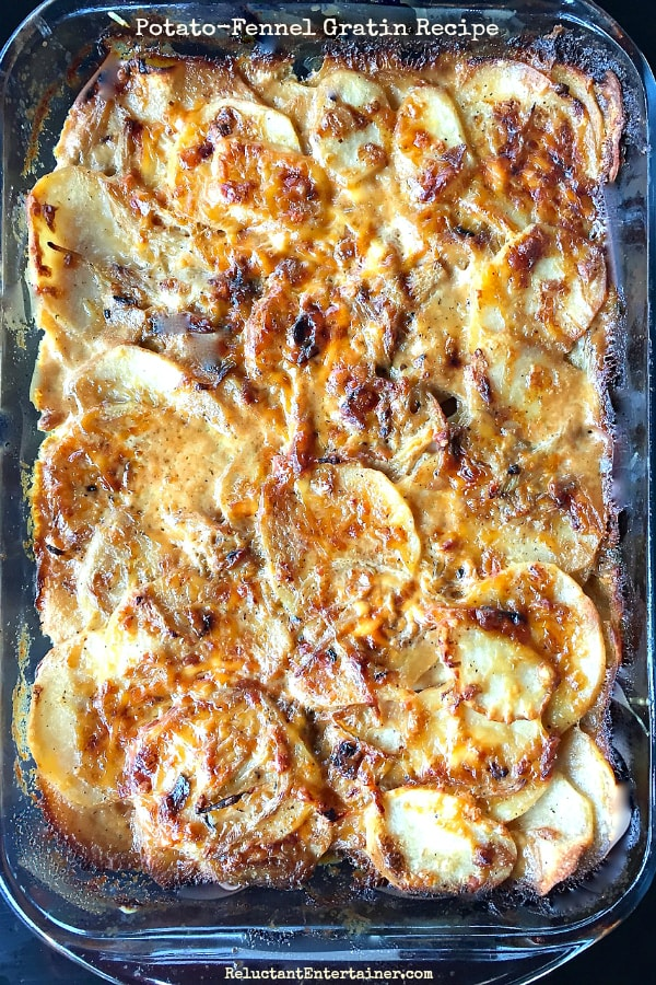 Potato-Fennel Gratin Recipe