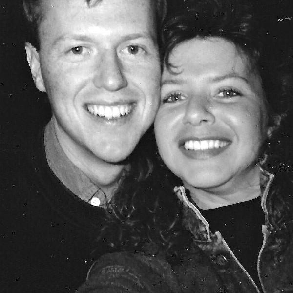 Paul and Sandy 25 years ago