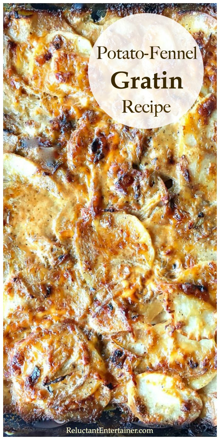 Potato-Fennel Gratin