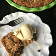 Crustless Gluten-Free Chocolate Chip Pie