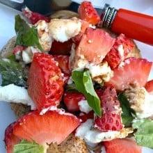 Strawberry Basil Chicken Tenders