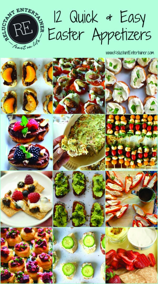 12 Quick & Easy Easter Appetizers