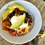 Bush's Black Bean Crock Pot Lasagna