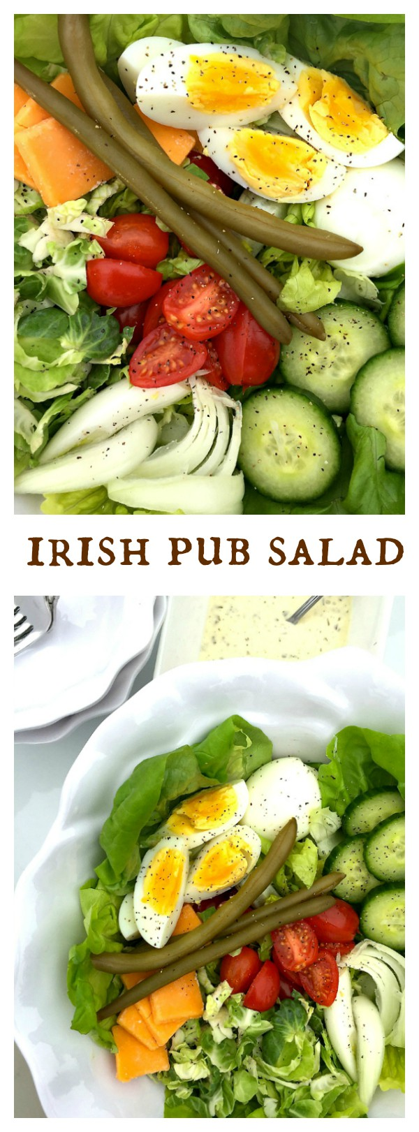 Irish Pub Salad for St. Patrick's Day