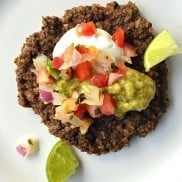 Black Bean Rice Patties