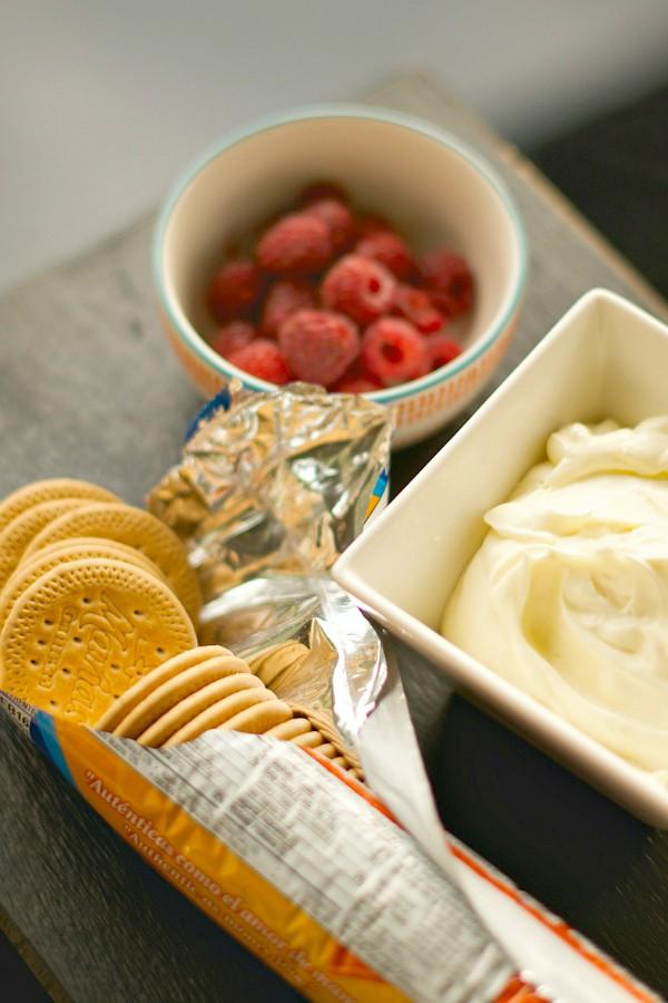 Raspberry Lemon Cream Galettes | ReluctantEntertainer