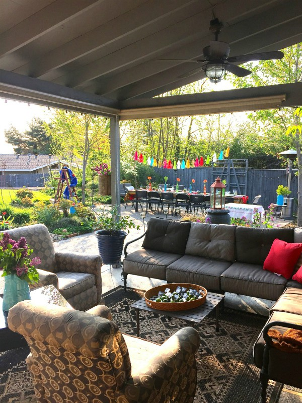 6 springtime entertaining tips