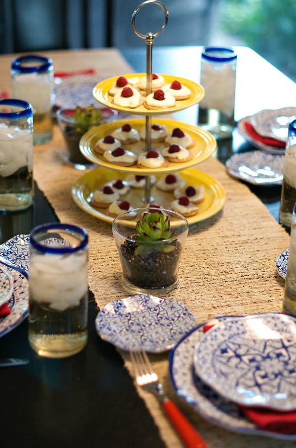 Raspberry Lemon Cream Galettes