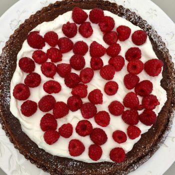 Kahlua Flourless Chocolate Cake