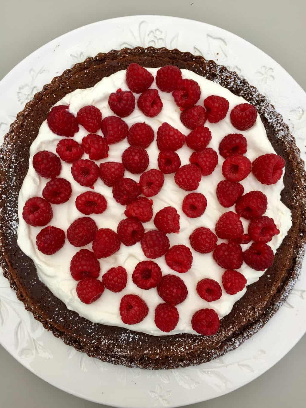 Flourless Chocolate Kahlua Cake Recipe