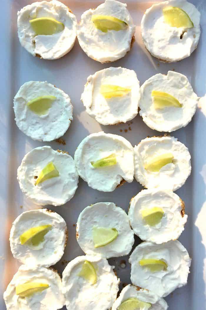 Best Mini Margarita Cheesecakes