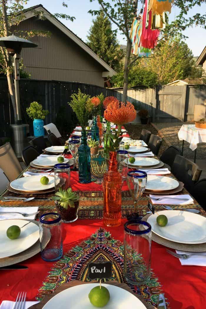 Mini Margarita Cheesecakes - set the table