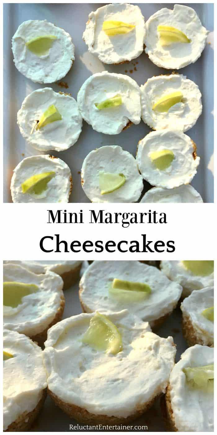 Easy Mini Margarita Cheesecakes Recipe