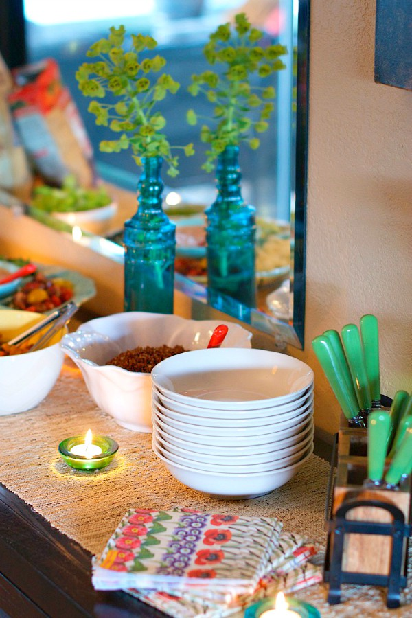 One-Hour Dinner Party with Vegetable Quinoa Bowls