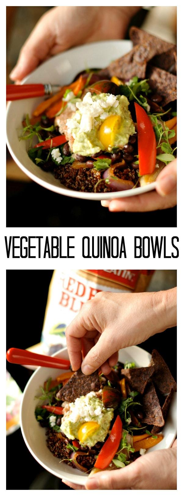 Vegetable Quinoa Bowls