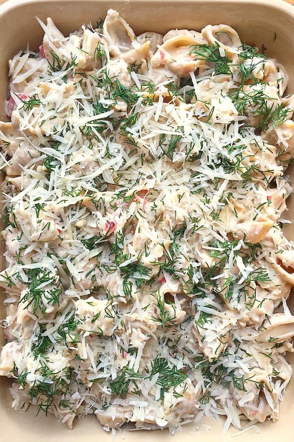 Tuna and Noodles Potluck Dish