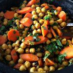 Spicy Carrot Garbanzo Tagine