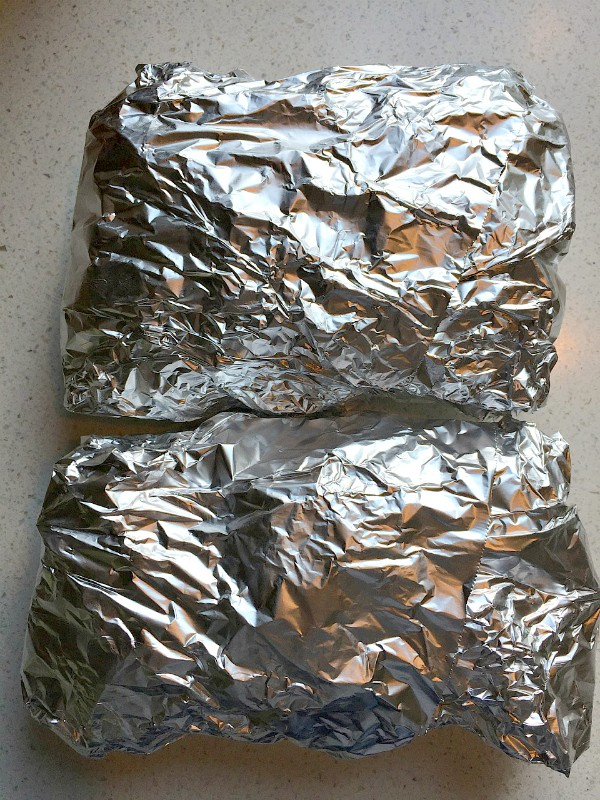 Vegetable Sausage Foil Pack Dinner