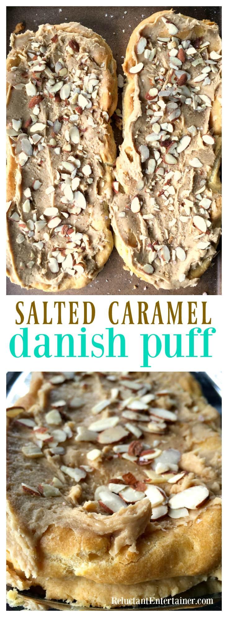 Salted Caramel Danish Puff