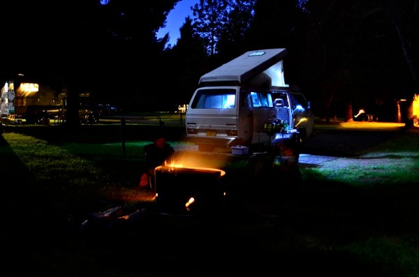 Westy Camping Oregon Coast