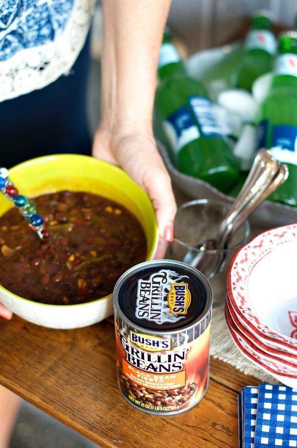 BUSH'S Grillin' Beans Black Bean Fiesta