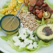 Avocado-Pine Nut Salad