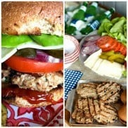 BUSH'S Black Bean Turkey Burgers