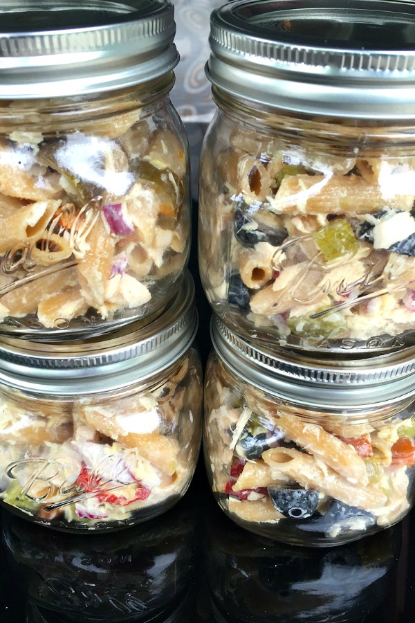 This delicious Tuna Pasta Salad is scrumptious to serve in canning ...