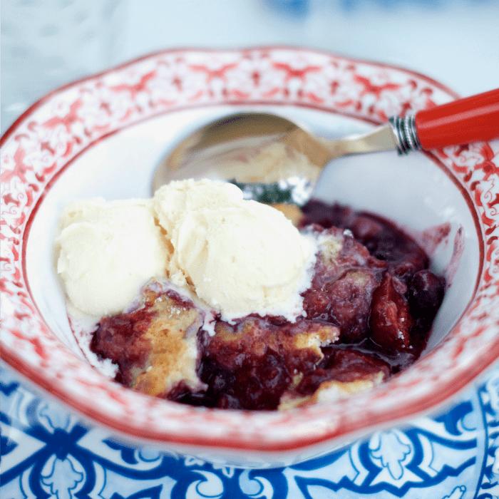 Entertaining Mixed Berry Cobbler Recipe