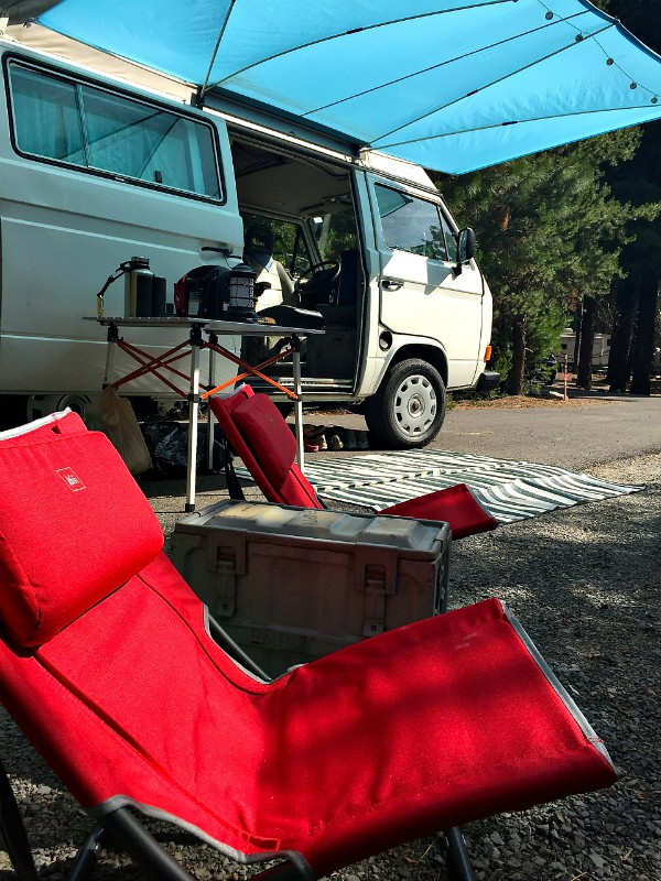 Westy-Style Camping