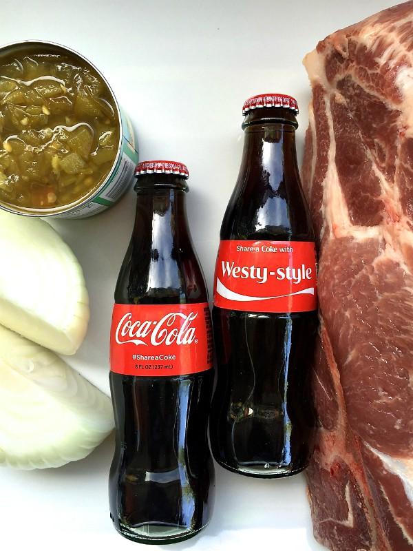 Recipe pulled pork crock pot coca-cola