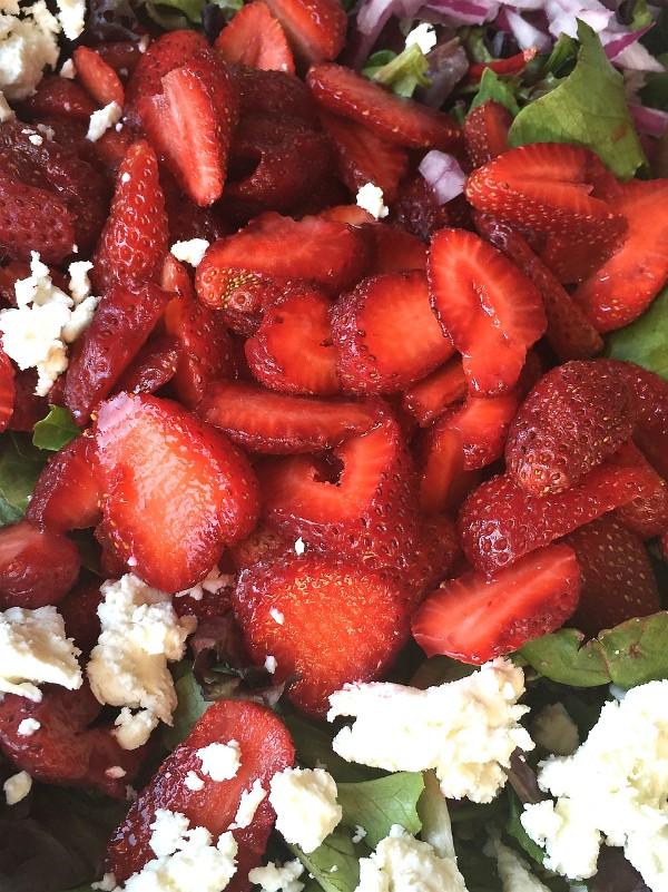 Strawberry Green Salad