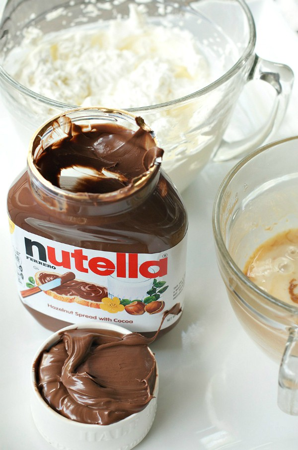 Out-of-Town Family Dinner Party with No-Churn Nutella Ice Cream