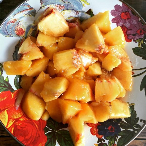 Peach Breakfast Cake