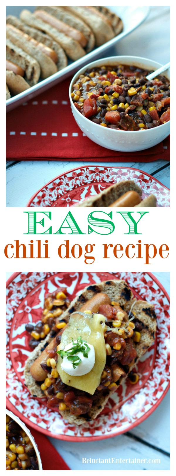 Easy Chili Dog Recipe