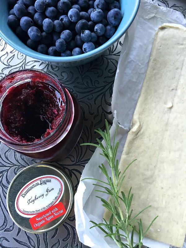 Fresh Berry Tart with Rosemary | ReluctantEntertainer.com