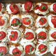 Zucchini Pizza Bites | Reluctant Entertainer.com