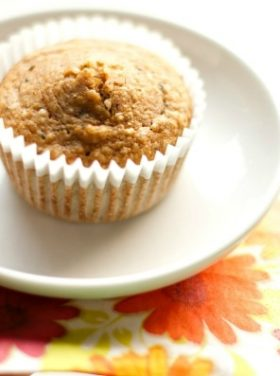 Banana Muffins with Hemp Hearts | ReluctantEntertainer.com