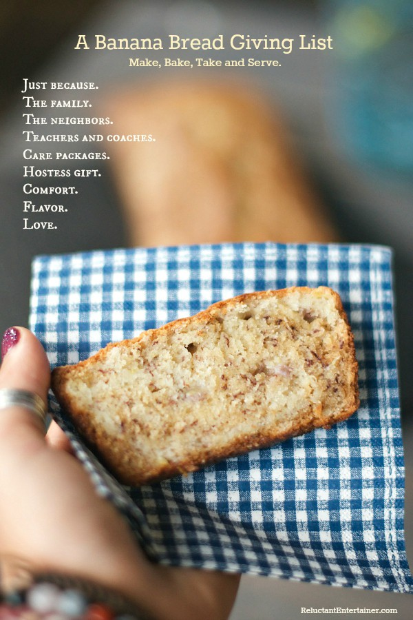 Sour Cream Banana Bread Banana Bread Giving LIST