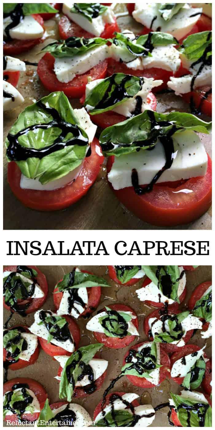 BEST Insalata Caprese Recipe