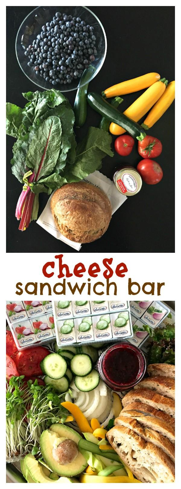 Alouette Cheese Sandwich Bar