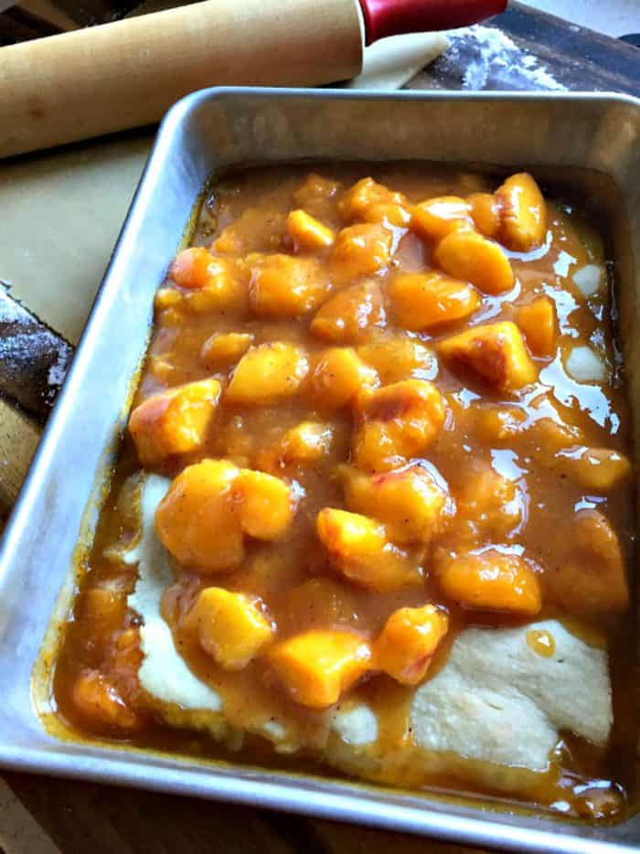 How to make Wonderful Peach Cobbler
