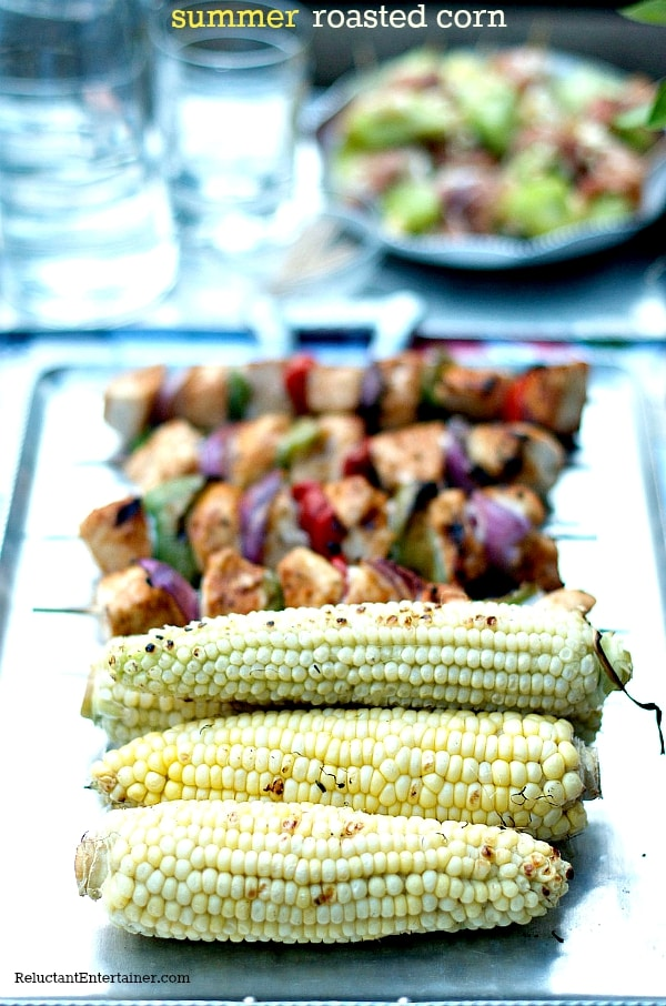 Summer Roasted Corn | ReluctantEntertainer.com