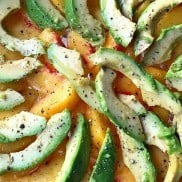 Peach Avocado Salad