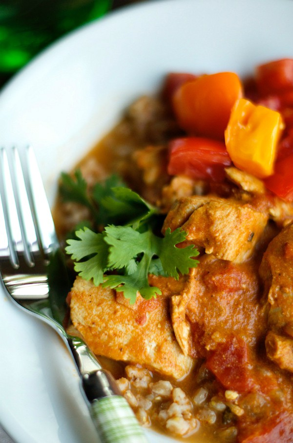 Crock Pot Chicken Tikka Masala | ReluctantEntertainer.com