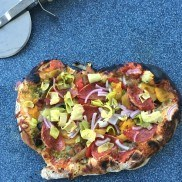 Best-Ever Pizza Dough Recipe {Party} | ReluctantEntertainer.com