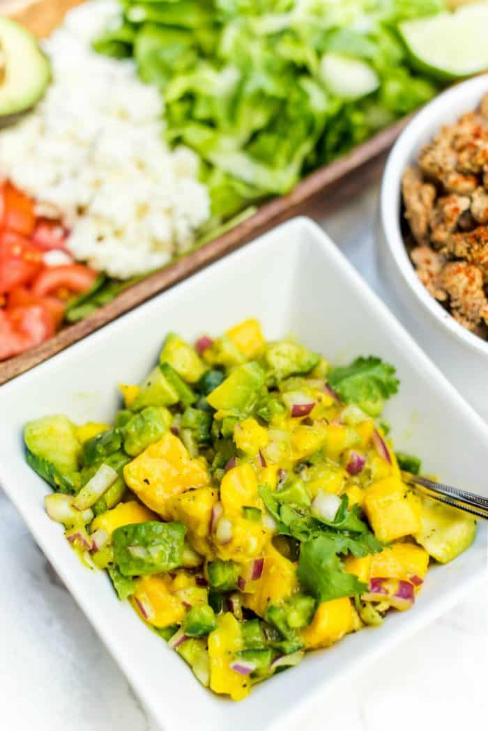 Quick Taco Salad with Salsa Recipe