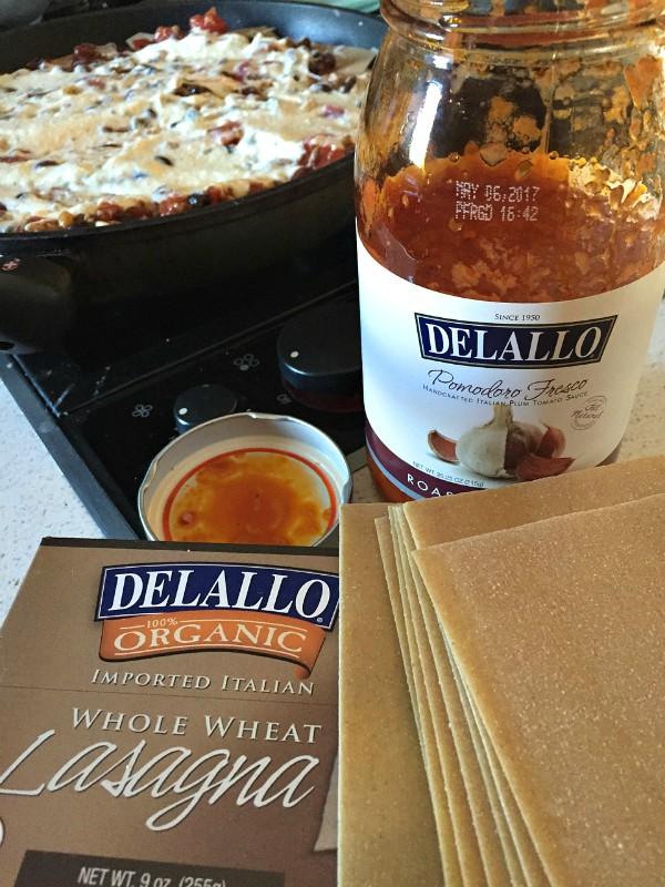 SKILLET Mexican Lasagna | ReluctantEntertainer.com